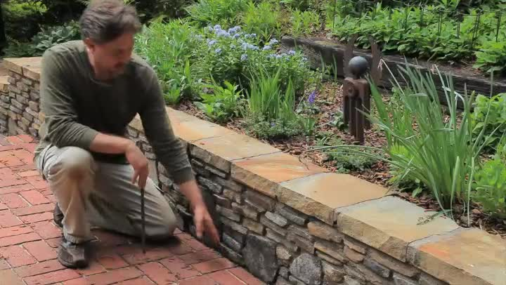 Gentil Video: Building A Small Landscape Retaining Wall | EHow
