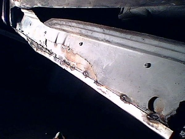 How To Replace Rusted Out Metal On A Car It Still Runs