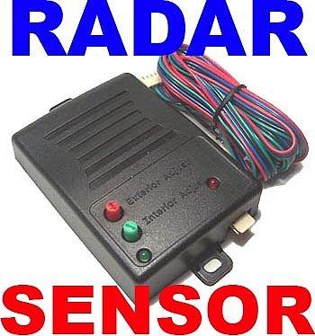 NEW DEI 508D DUAL ZONE RADAR MOTION CAR ALARM SENSOR VIPER CLIFFORD CONVERTIBLE