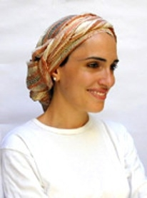 How To Tie A Headscarf In The Dutch Crown Style