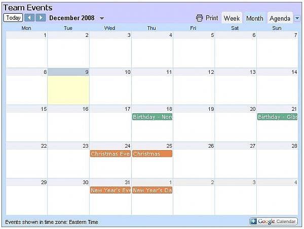 how to make an embedded google calendar show in agenda chron com
