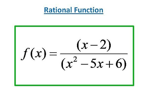 How to Find Intercepts in a Rational Function