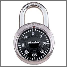 How To Find The Combination Of A Master Lock Using Its Serial Number
