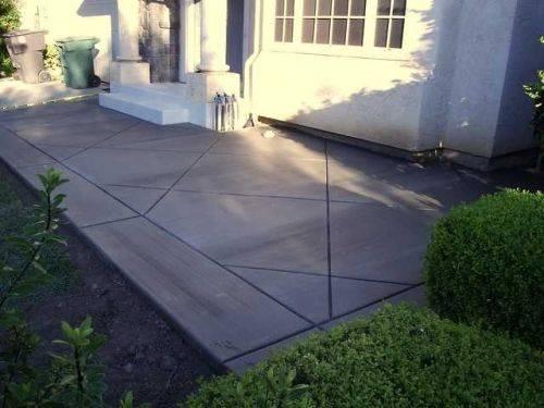 DIY Stamped Concrete Patio   eHow on Diy Concrete Patio Ideas id=51480