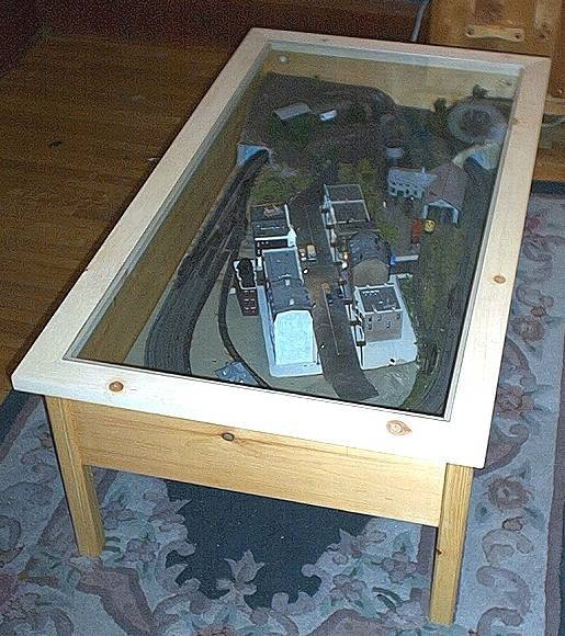 Marvelous How To Make A Train Coffee Table Our Pastimes Download Free Architecture Designs Scobabritishbridgeorg