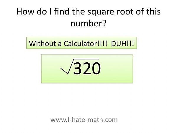 How to Find the Square Root of an Irrational Number