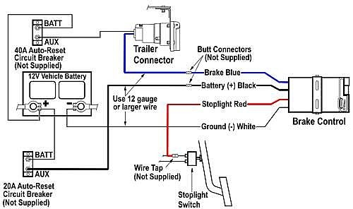Download Wiring Diagram For Trailer Plug With Electric Brakes Pics