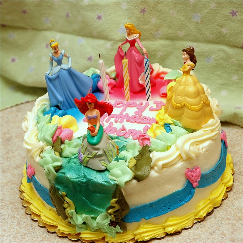 Disney Princess Cake Ideas