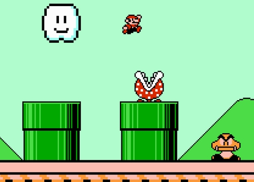 How To Get To World 4 On Super Mario Bros