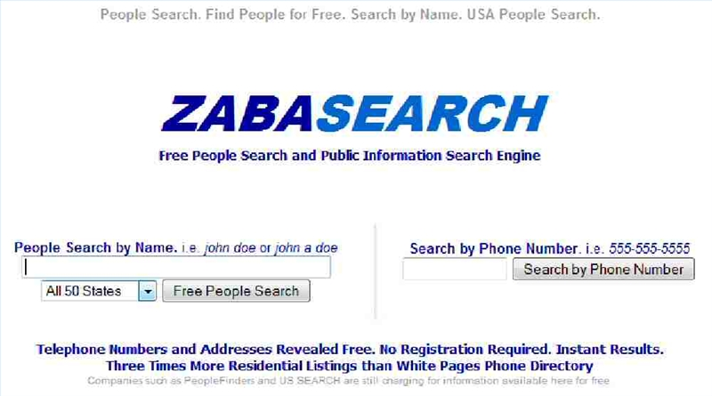 How do you use ZabaSearch?