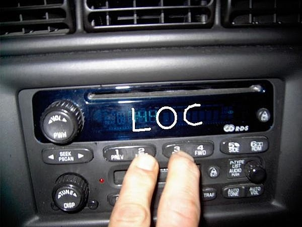 How To Get Gm Delco Radio Unlock Codes When Display Says Loc It Rhitstillruns: 2007 Chevy Silverado Radio Locked At Gmaili.net