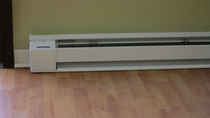 noma digital baseboard heater manual