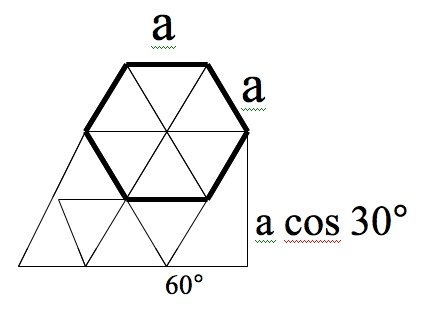 How to Calculate Length of Sides in Regular Hexagons