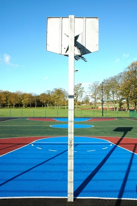 How To Pour A Concrete Slab For A Basketball Court Sportsrec