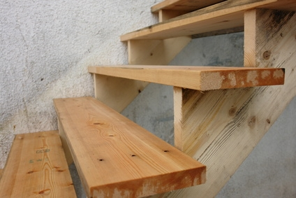 how to build exterior stairs