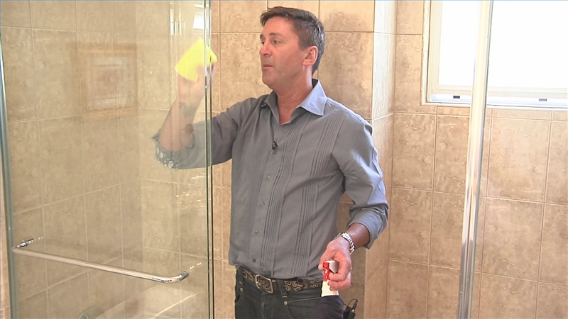 Video: How To Remove Lime Scale From Shower Doors | EHow