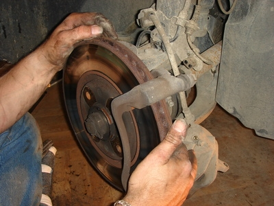 How To Replace The Front Rotor On A Ford Ranger