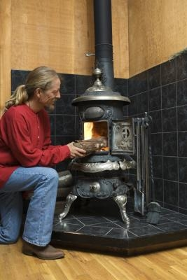 How To Lay Ceramic Tile For A Wood Burning Stove Homesteady