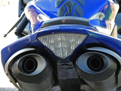 How to Drill Out a Motorcycle Exhaust Pipe   It Still Runs