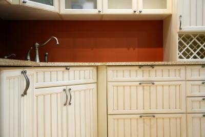 How To Update Whitewashed Cabinets
