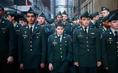 Are jrotc class b uniform consider