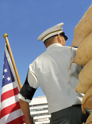 Funeral Etiquette for Wearing a Military Uniform