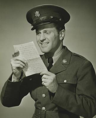 Pen pals for soldiers overseas