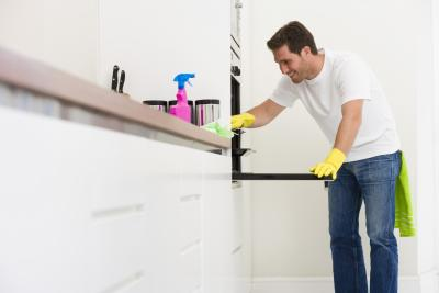 how to clean baked on dirt or grease on glass oven doors homesteady. Black Bedroom Furniture Sets. Home Design Ideas