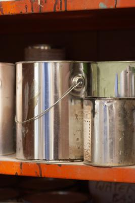 how to clean off paint thinner