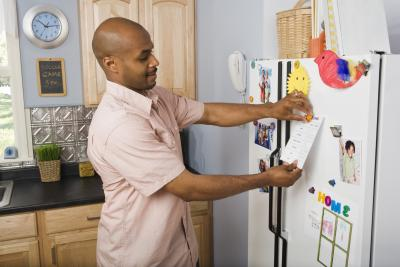 How To Put Magnets On Non Magnetic Refrigerators Homesteady