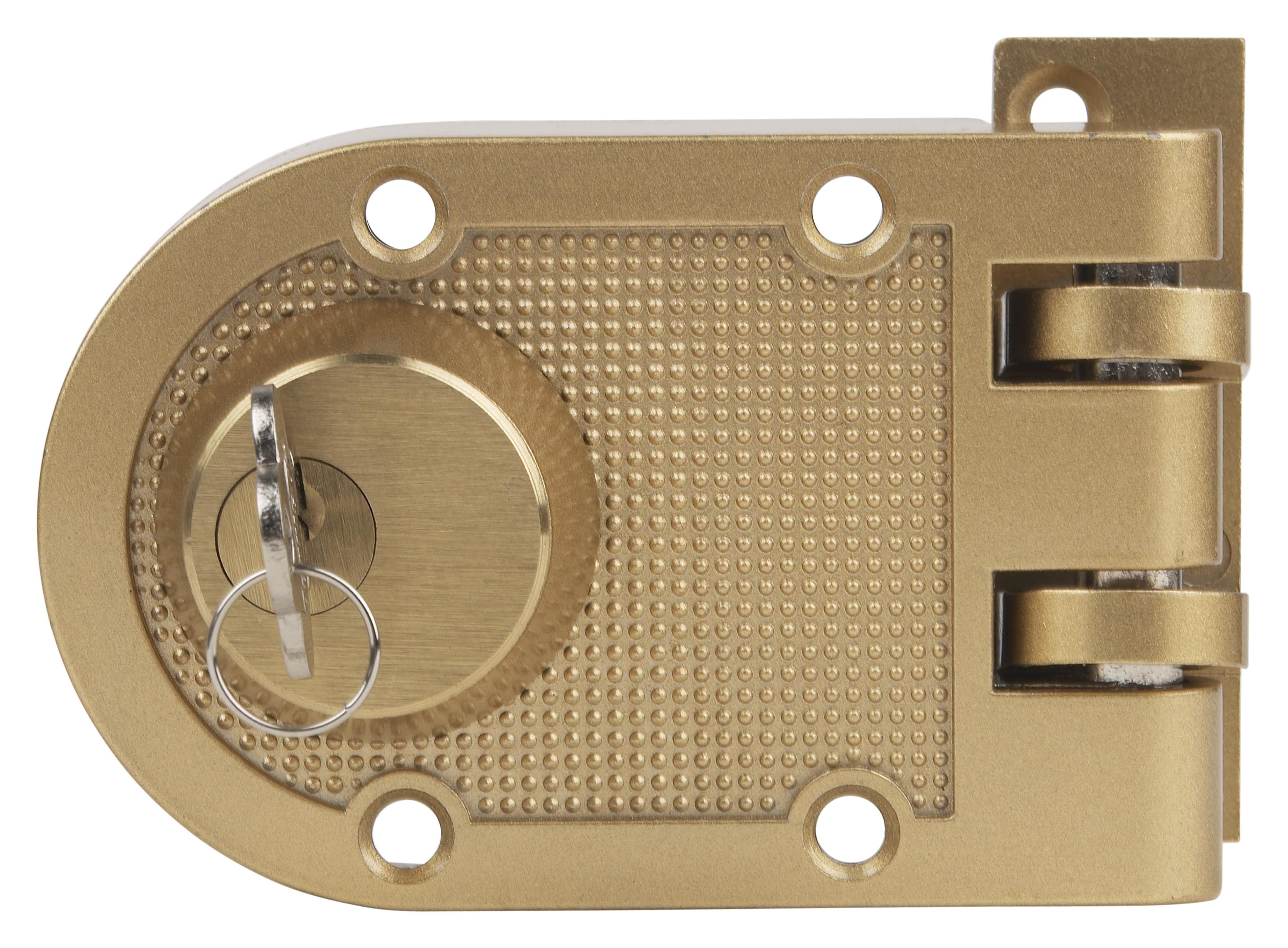 how to install a maxtech surface mount deadbolt lock homesteady. Black Bedroom Furniture Sets. Home Design Ideas