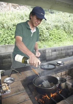 How to frame a barbecue island homesteady for Asadores de concreto para jardin