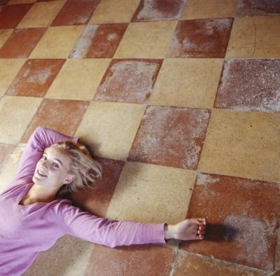 How To Paint Patterns On Concrete Floors Homesteady