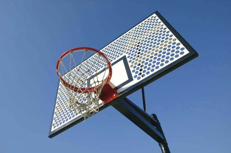 Marvelous Convert Portable Basketball Goal To Inground Round Designs